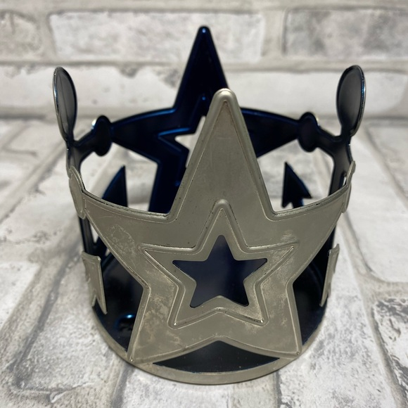 Yankee candle stars and anchors candle holder
